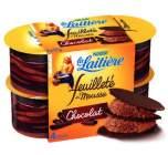 feuillete de mousse chocolat la laitiere
