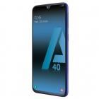 galaxy a40 smartphone samsung noir