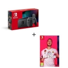 photo PACK NINTENDO SWITCH GRISE + FIFA 2020