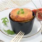 souffle au foie gras et abricots secs