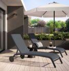 bain de soleil jardin naterial lyra fix aluminium anthracite