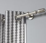 tringle a rideau extensible design gris mat inspire