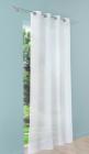 voilage tamisant lium blanc l140 x h240 cm