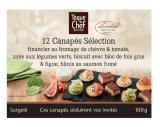 12 canapes selection
