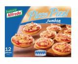 12 mini pizza jambon cru et oignons