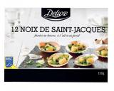 12 noix de saint-jacques