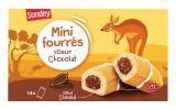 14 mini cakes fourres au chocolat