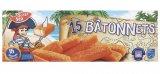 15 batonnets de poissons panes msc