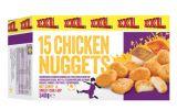 15 nuggets de poulet xxl