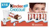 16 kinder chocolat
