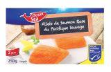 2 filets de saumon rose du pacifique msc
