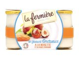 2 yaourts a la noisette et sa pointe damande