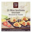 20 mini feuilletes saucisse