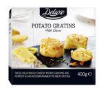 4 gratins de pommes de terre au fromage