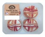 4 haches de porc chevre et bacon