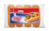 4 petits pains pour hot dog