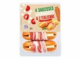 4 saucisses gourmandes a litalienne