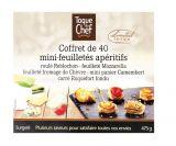 40 mini feuilletes aperitifs au fromage
