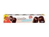 5 guimauves geantes avec glacage cacao
