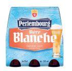 photo 6 bières blanches saveur pêche