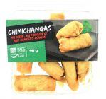 6 chimichangas croquetas ou falafels