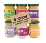 6 mini sauces