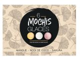 6 mochis glaces