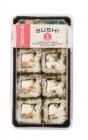 6 sushi california rolls