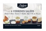 6 verrines salees