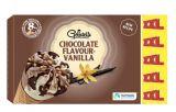 8 cones saveur chocolat-vanille