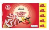 8 cones saveur vanille-fraise xxl