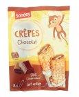 8 crepes fourrees au chocolat