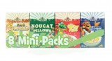 8 mini packs de cereales