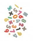 alphabet ou chiffres et symboles aimantes