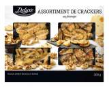assortiment de crackers