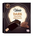 photo Bâtonnets de glace chocolat noir