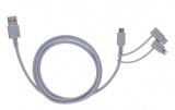 cable de charge et synchronisation 3 en 1