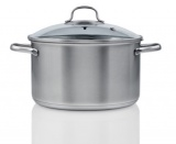 casseroles en acier inoxydable