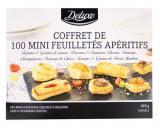 coffret de 100 mini feuilletes aperitifs