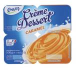 creme dessert caramel