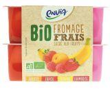 fromage frais sucre aux fruits bio