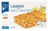 lasagnes aux deux saumons