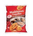 madeleines aux pepites de chocolat