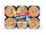 muffins aux pepites de chocolat