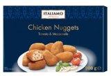 nuggets de poulet tomate mozzarella