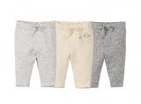 pantalons molletonnes bebe en coton bio