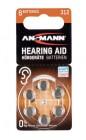 piles bouton pour appareils auditifs