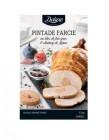 pintade farcie au bloc de foie gras et chutney de figues