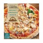 pizza artichaut gorgonzola noisette