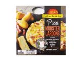 pizza munster-lardons